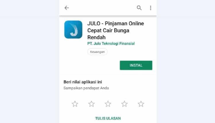 install aplikasi pinjaman online julo