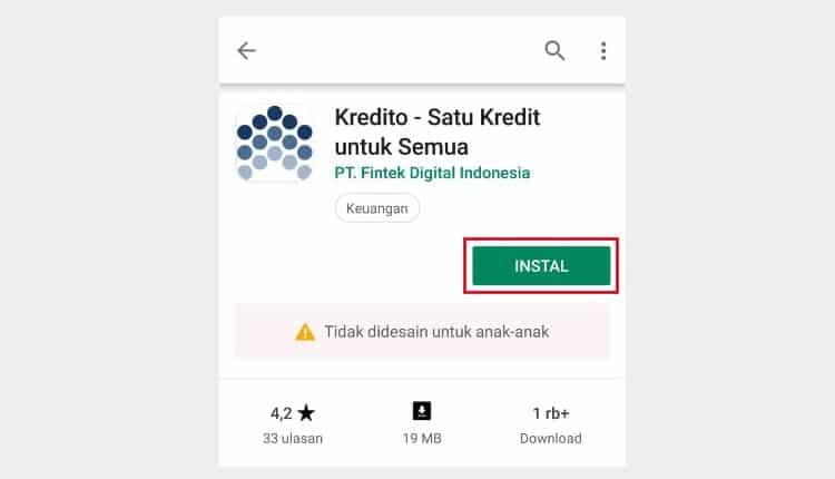 aplikasi kredito