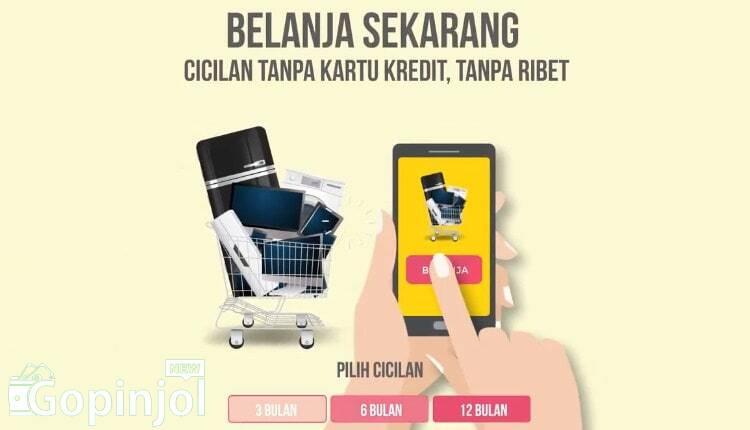 cicilan online tanpa kartu kredit terbaik