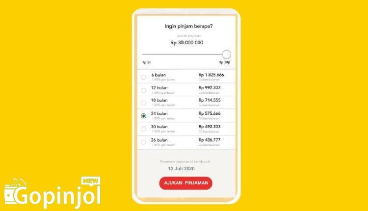 tabel angsuran kta digibank dbs online 2021
