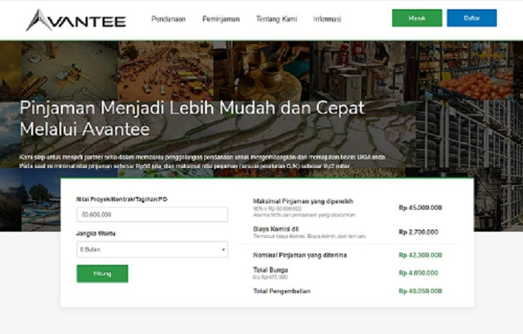 website avantee