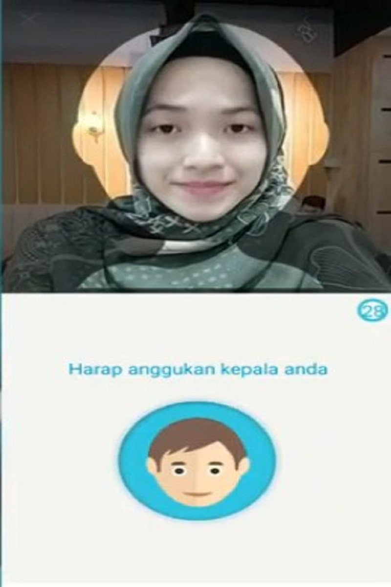 verifikasi wajah